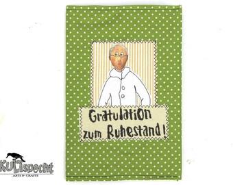 Parting gift retirement souvenir, gift farewell colleague, cute adoption gift women, book memories, kultspecht Design Düsseldorf Germany