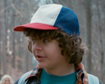 Stranger Things Show Red White & Blue Trucker Hat Dustin Cap 80's