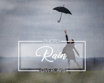 27 Rain photo overlays