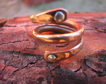 Copper ring adjustable