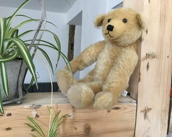 Teddy Bear, mohair bear, good condition, naked and homeless, looking for a new life. Willing to travel the world, easy going, no baggage...