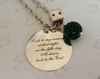 Mother's day gift , gift for mom ,Actual Handwriting necklace , Handmade Necklace , Handmade Jewerlly ,Personalized Necklace ,