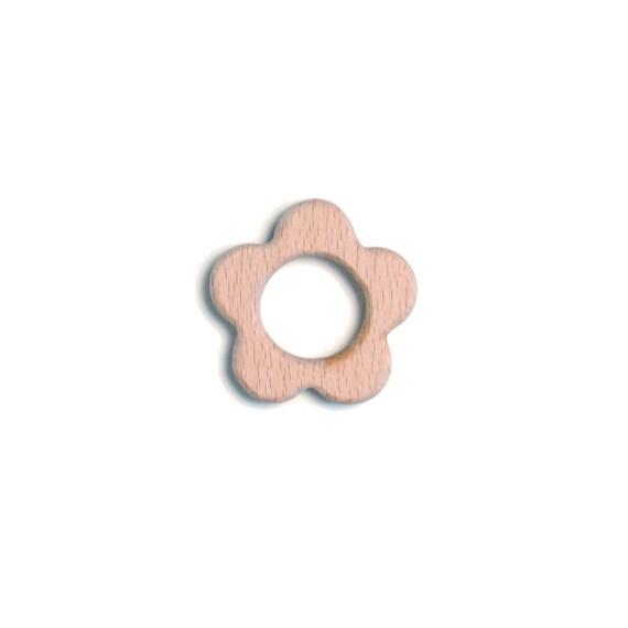 wooden teething ring (wood teether)