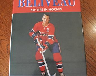 Jean Beliveau book (inscribed)