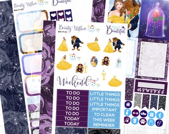 Beauty Within - Personal Weekly Kit - Removable Vinyl (Matte) - Planner Stickers