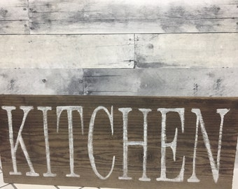 READY TO SHIP, Kitchen sign, Kitchen wood sign, Rustic kitchen sign, Vintage kitchen sign, Farmhouse kitchen