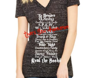 Read the Books Harry Potter inspired shirt