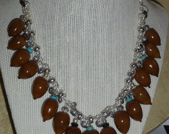 Acorn Necklace #128