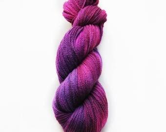 Hand dyed yarn 'Psychoactive' 4 ply 100g