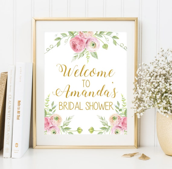 Wild image inside printable bridal shower signs
