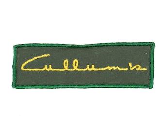 Cullum's Vintage Patch
