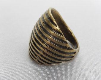 Old Creator Metal Ring