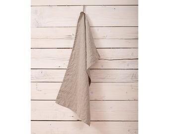 Linen Towels - Natural Linen Kitchen Towels - Dish Tea Towels - Stone Washed Linen Towels - Wedding Gift - Hand Linen Towels - Natural Towel