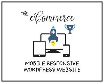 Mobile Friendly Web design   Wordpress Website Design    Custom Website Design   Professional Web Design   Ecommerce Web Design Package