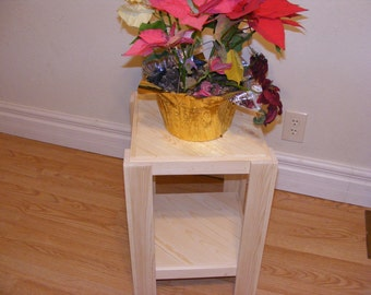 Rustic End table/Plant stand/Night stand