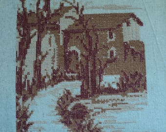 Machine Embroidery Design Road to home