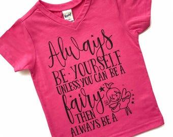 Fairy Shirt - Fairy Tshirt - Fairy Tee - Fairy T Shirt - Girls Shirt - Girls Tshirt - Cute Girls Shirt - Fairy Wand - Fairy Outfit - Fairy