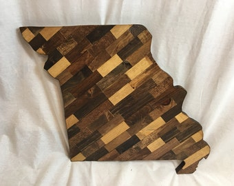 Missouri Cut Out - Wood Art - Made to Order