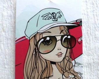 100 PRICE TAGS HANG Tags Retail Tags Boutique Tags Cute Sunglasses  Girl Clothing Tags With 100 Plastic Loops
