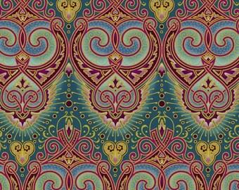 In The Beginning - Deco Elegance Fabric - By Jason Yenter