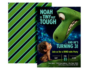 The Good Dinosaur, The Good Dinosaur invitation, The Good Dinosaur birthday, The Good Dinosaur Birthday, The Good Dinosaur invite