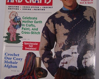 McCall's Needlework And Crafts October 1992