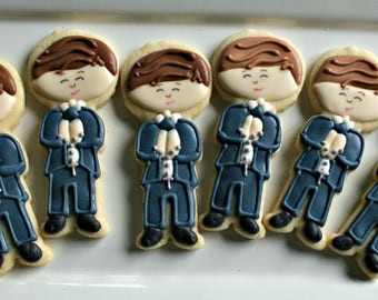 Communion Cookies-Little Boy Confirmation Cookies, Baptism Cookies