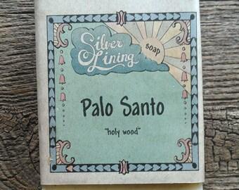 Palo Santo 90% organic soap