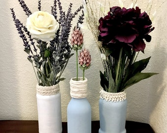 Vintage-Inspired Floral Centerpieces