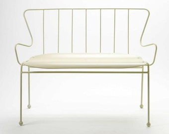 Antelope Bench designed by Ernest Race for Race Furniture