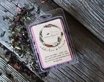 Natural Wax Melts - Soy Melts - Wax Tarts - Spring Scents - Natural Soy