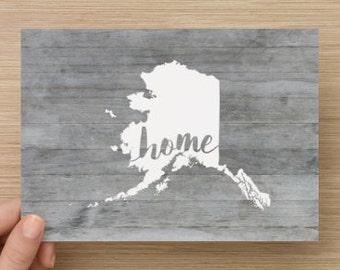 Alaska Home 5x7 Print