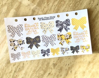 Floral Bow Stickers