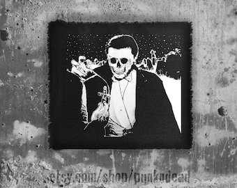 Vampire patch • punk patches • goth • fabric • punk clothing •punk aufnäher • custom patches