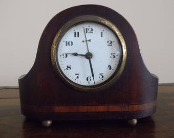 Antique Art Deco desk clock, Hamburg - Amerikanische Uhrenfabrik, 1930s