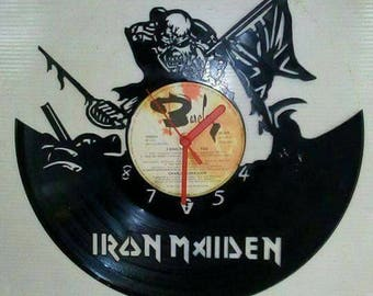 Iron maiden record clock
