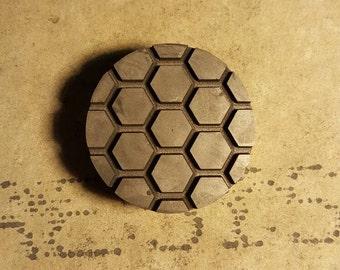 Honeycomb Stamp Etsy