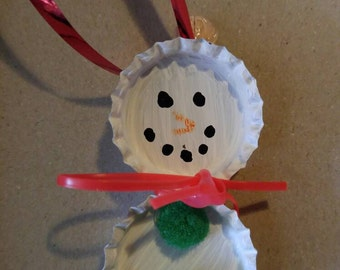 Small snowman ornament