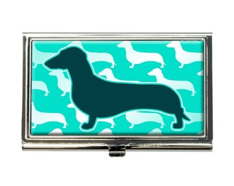 Dachshunds Galore Business Credit Card Holder Case