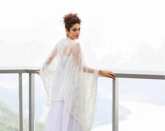 White Lace Wedding Kimono