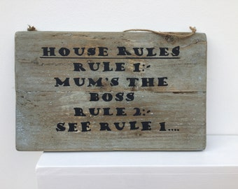 Handmade Mother's Day Sign Gift