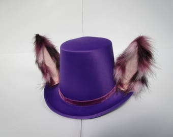 Purple Furry Tophat