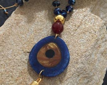 Greek blue eye