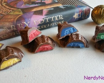 Hogwarts House Chocolate Frogs