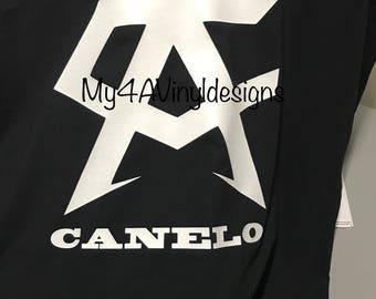New Canelo Alvarez Champion Boxing Tshirt