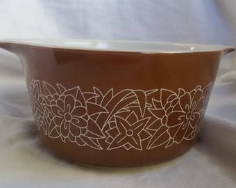 Woodland Brown Pyrex dish