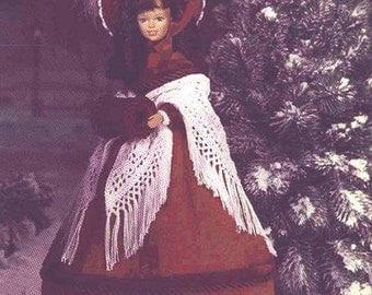22. Barbie fashion doll dress, crochet pattern in pdf,