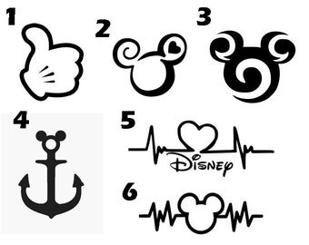 Disney Vinyl Decal Etsy - Disney custom vinyl stickers