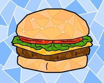 Mosaic Burger