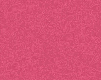 Seventy-Six by Alison Glass Stitched in Auburn A-8450-R cotton fabric andover modern material quilting supplies red